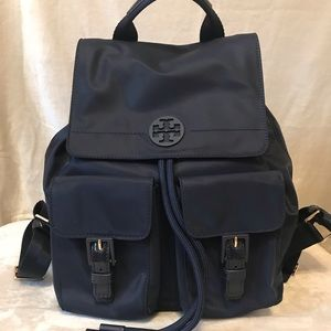 Tory Burch Navy Tilda Backpack